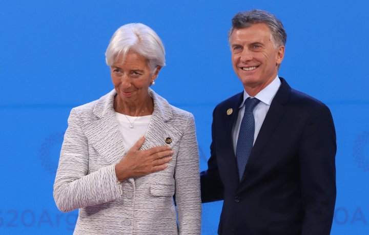 La directora gerente del FMI, Christine Lagarde, adelantó que la economía mundial crecerá menos de 3,5% este año.