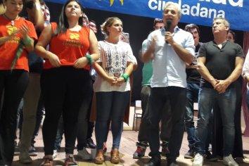 Barbieri, Garcilazo, Vallori, Jourdán, Rossi y Báez brindaron apoyo.