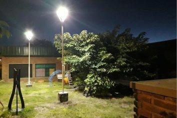 Nueva Iluminación para una escuela Esparza
