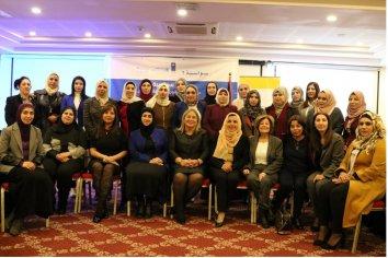 Susana Medina participa de un encuentro con mujeres juezas palestinas