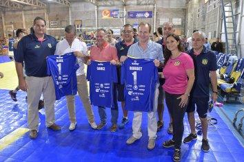 Bordet visitó el Club Atlético Paracao