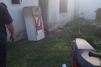 Incendio en una vivienda de Paraná