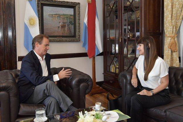 Bordet acordó con la ministra de Salud lineamientos estratégicos para este año