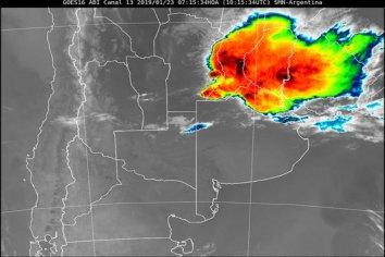 Alerta por tormentas fuertes en 4 provincias