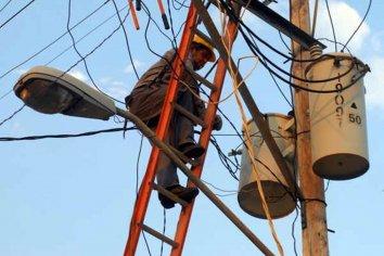 Se vio afectado el suministro eléctrico en algunos puntos de la provincia