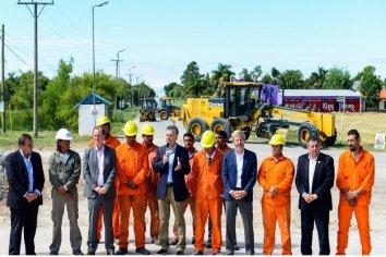 Inundación en obra inaugurada por Macri 2018