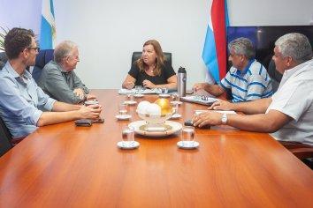 Vialidad y la comuna de Libertador San Martín proyectan tareas conjuntas