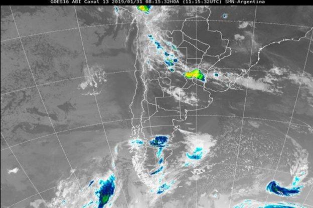 Nuevo alerta meteorológico para la zona de Entre Ríos