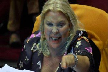 """Carrió, ante el gabinete ampliado: """"Nos van a sacar muertos de Olivos"""""""
