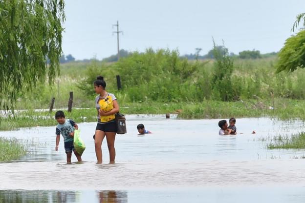 Catastrófica situación del Litoral argentino ante las intensas lluvias de enero 2019