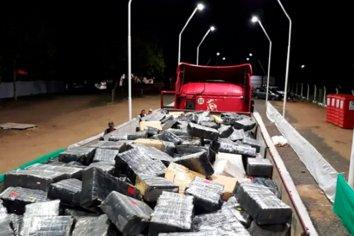 Incautaron mas de 9 mil kilos de marihuana en Corrientes