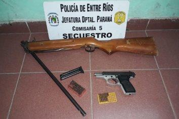 Allanamiento y secuestro de armas