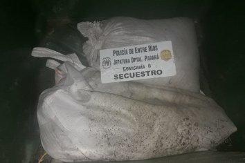 Detenidos por robar una bolsa de arena