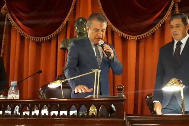 Reeligen a Urribarri como presidente de la Cámara de Diputados
