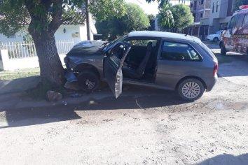 Accidente de transito en calle Fraternidad