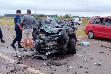 Fatal accidente en Autovía Artigas: dos muertos