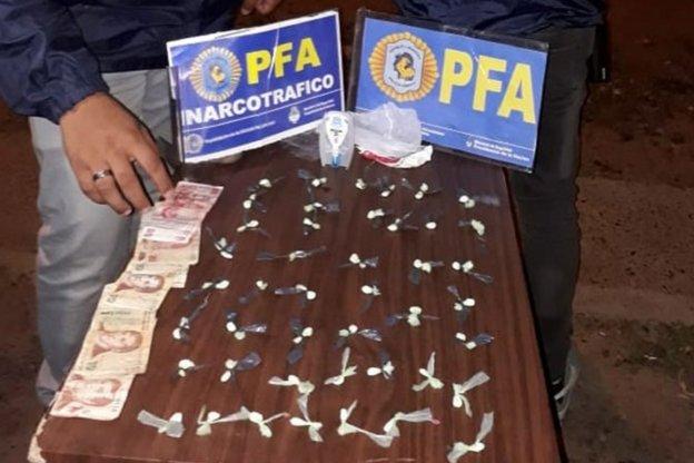 Dos detenidos por Narcomenudeo