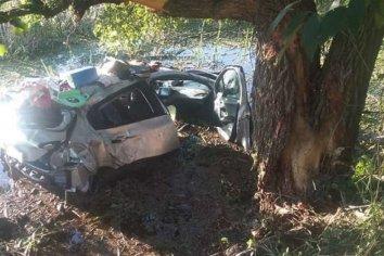 Un chico de 14 años murió al despistar el auto en el que viajaba junto a su familia