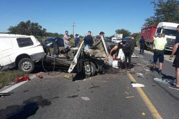 Terrible accidente en La Picada