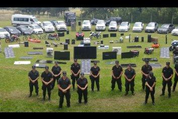 La PSA desbarató una importante organización narcocriminal en la ciudad de Río Cuarto.