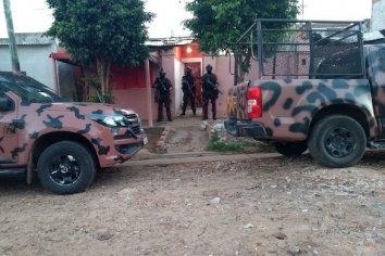 Cinco detenidos, armas y droga en catorce allamientos en ciudades de la Costa del Uruguay