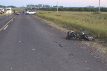 Dos hermanos murieron en un accidente vial en Entre Rios