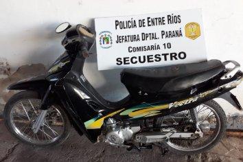 Robo en la via publica con detenidos
