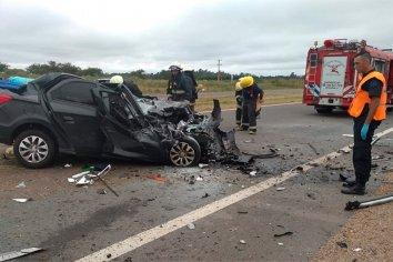 Accidente fatal en Entre Ríos: una pareja murió y sus hijas se encuentran en grave estado