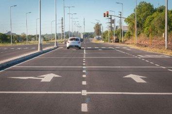 La autovía entre Paraná y Oro Verde, cerca de su etapa final