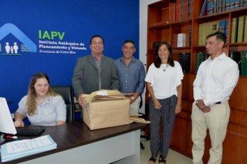 La provincia licitó nuevas viviendas para Crespo