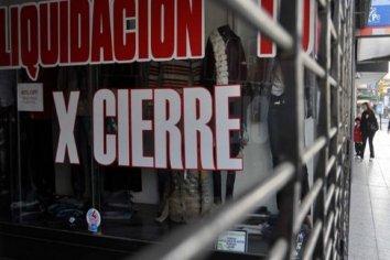 En 2018 quebraron 795 empresas en la Ciudad de Buenos Aires y en la Provincia de Buenos Aires