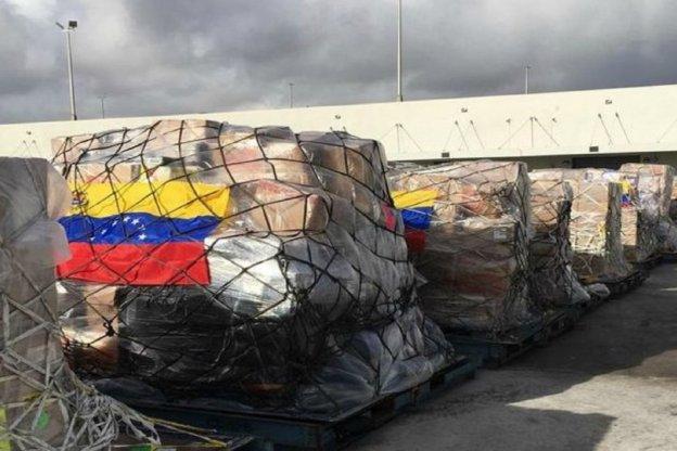 """En el """"Día D"""", la oposición liderada por Guaidó intentará ingresar ayuda a Venezuela"""