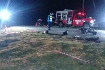 Un joven falleció al chocar con su motocicleta