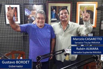 CREER PARANÁ LISTA 602: Marcelo Casaretto va como senador por Paraná