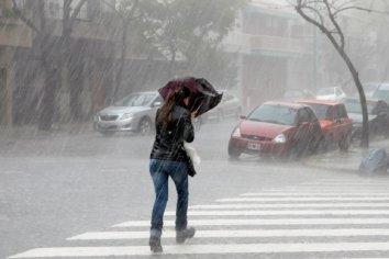 Fuertes tormentas para este martes afectaran a Entre Ríos y Santa Fe
