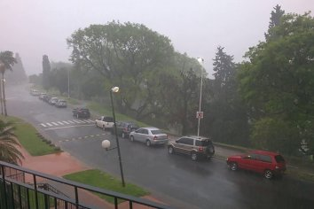 Rige un alerta meteorología para toda la provincia