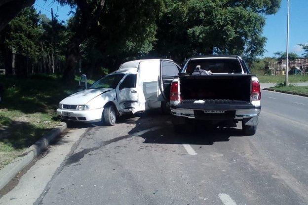 Falleció uno de los conductores que chocó en Av. Almafuerte