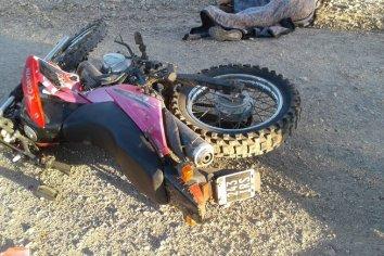 Motociclista atropello a un peatón y lo mató