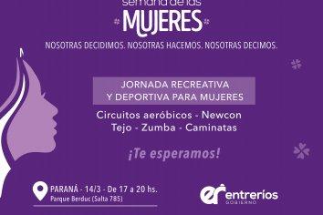 Jornada Recreativa y Deportiva para Mujeres