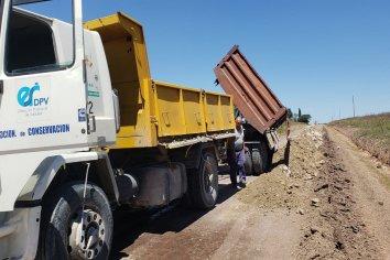 Continúan durante el fin de semana los trabajos de conservación en la red vial entrerriana