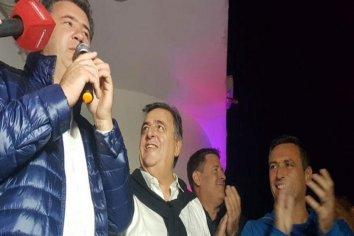 En La Falda ganó Cambiemos con casi el 50 %: Negri y Mestre viajaron para sumarse a los festejos