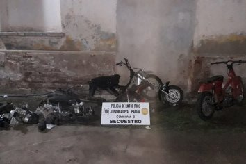 Allanamiento y secuestro de moto partes