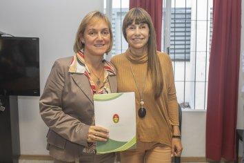 Asumió Carina Reh como directora del Hopital San Roque
