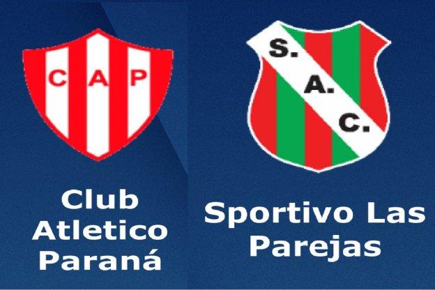 Atletico Paraná vs Sportivo Las Parejas