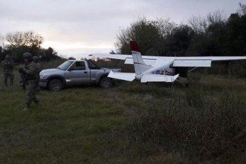 La avioneta en que Celis traía la droga fue entregada por la Justicia a la Policía
