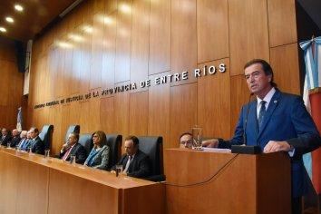 """""""Lo que pretende la sociedad entrerriana de la Justicia es una respuesta rápida"""""""