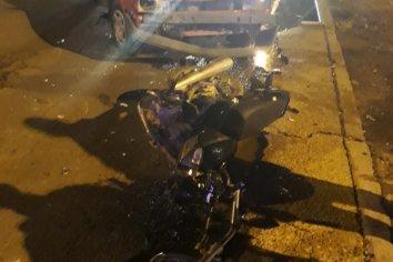 Grave accidente en calle Alvarado