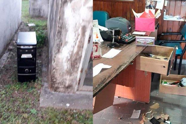 Robos y destrozos en el cementerio de Santa Elena