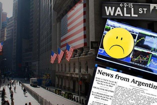Vendaval: riesgo país superó los 850 puntos y acciones argentinas se hundieron en Wall Street