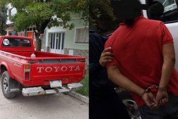 Delincuente intentó robar una camioneta en María Grande y lo detuvieron